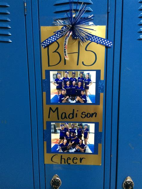 the 81 best images about cheer on locker