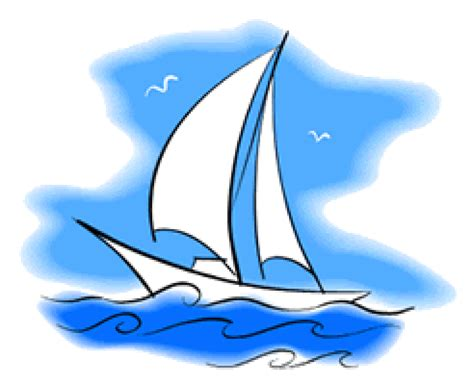 dessin d un bateau sur l eau coloriage bateau sur hugolescargot