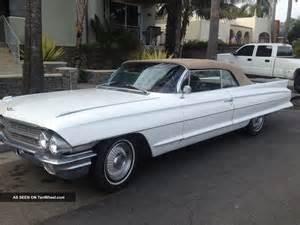 1962 Cadillac 62 Series 1962 Series 62 Cadillac Convertible