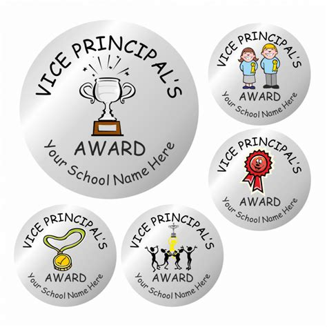 Principal Award Stickers