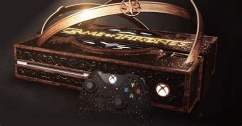 Edition Of One by Microsoft Reveals Special Edition Of Thrones Xbox One