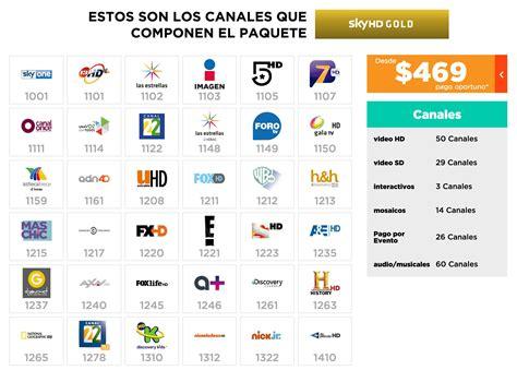 programacion izzi mexico paquetes ver canales online hd sky m 233 xico introduce nuevo paquete hd tv paga univers