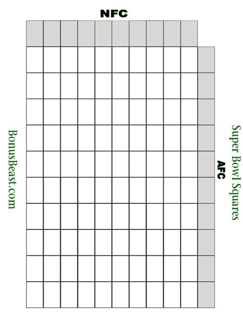 template for bowl squares search results for empty 100 square grid printable