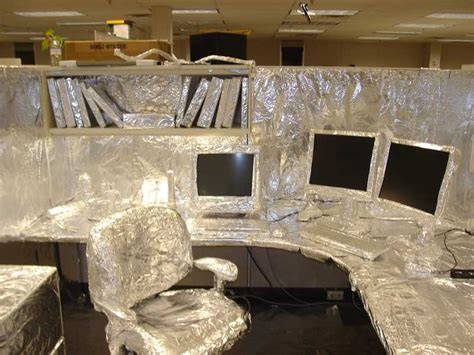 Office Pranks 30 Creative April Fools Office Pranks Damn Cool Pictures