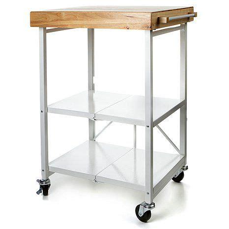 origami folding kitchen island cart with wheels the world s catalog of ideas