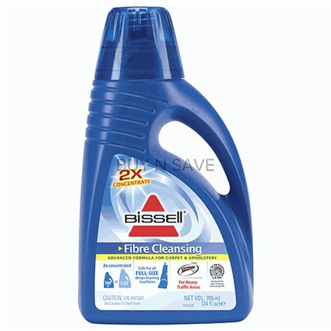 bissell carpet and upholstery cleaning machines bissell 2x fibre cleansing formula for most carpet