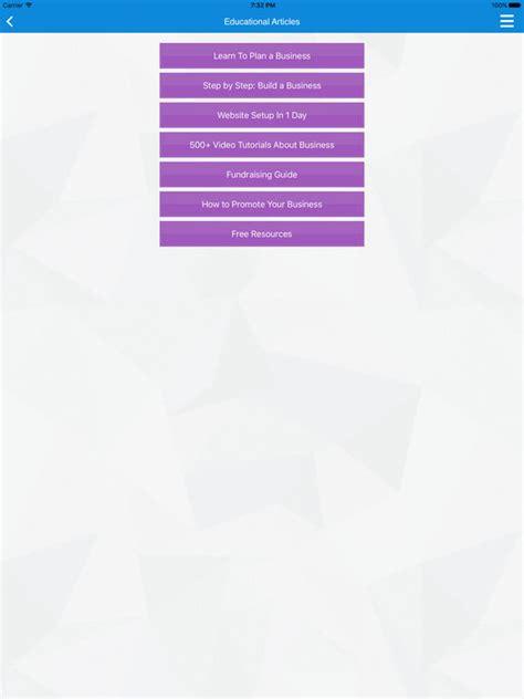 business plan start your business screenshot