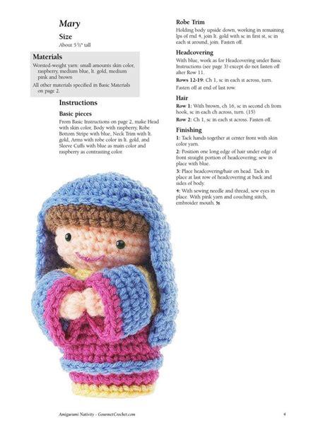 amigurumi nativity pattern issuu nacimiento crochet by luisa correa teresa restegui