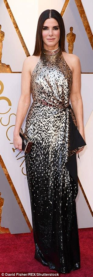 Helen Halter Neck Dress vine celebrates 50s on the oscars carpet daily mail