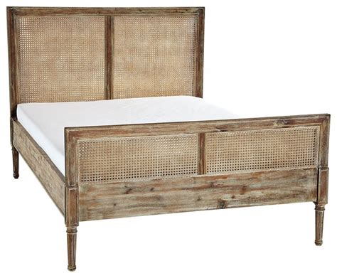 cane bed harbour cane bed contemporary beds by serena lily