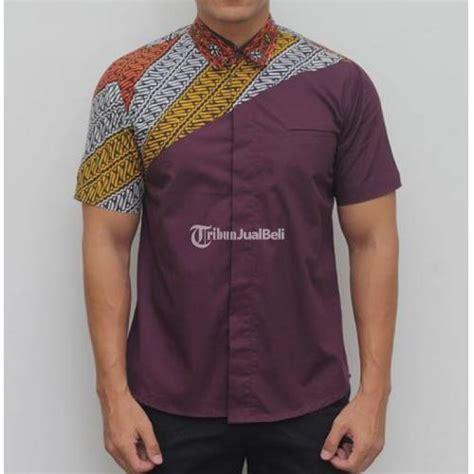Kemeja Batik Pria Peta kemeja batik pria motif keren bahan berkualitas terlengkap