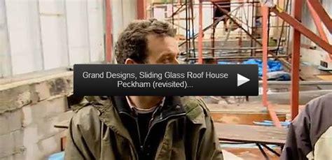 virtual  peckham house glass sliding roof grand designs