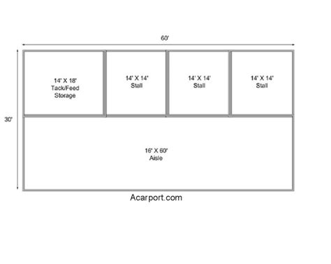 horse stall floor plans horse barn floor plans 30 x 40 2 stall horse barn with