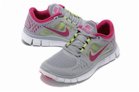 awesome nike running shoes cool nike free run 3 womens running shoes gray fuchsia