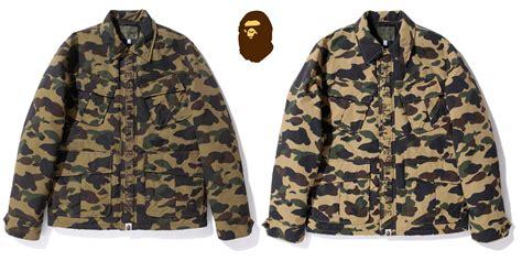Hoodie Bape A Bathing Ape Army Camo Include Packaging 1 a bathing ape 1st camo army jungle fatigue shirt