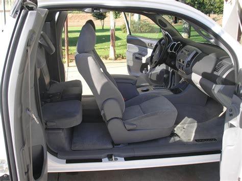 Toyota Tacoma Seating Capacity Toyota Tacoma Access Cab Seating Capacity Brokeasshome