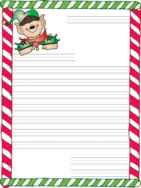 santa letter templates blowing dandelions letters for santa