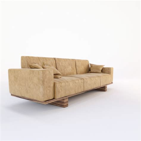 sofas utah riva 1920 utah sofa 3d model max obj fbx mtl cgtrader com