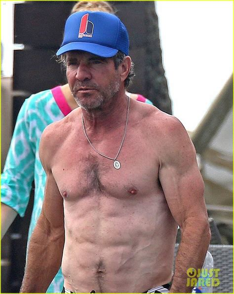 dennis quaid cop movie dennis quaid goes shirtless looks incredibly ripped at 61