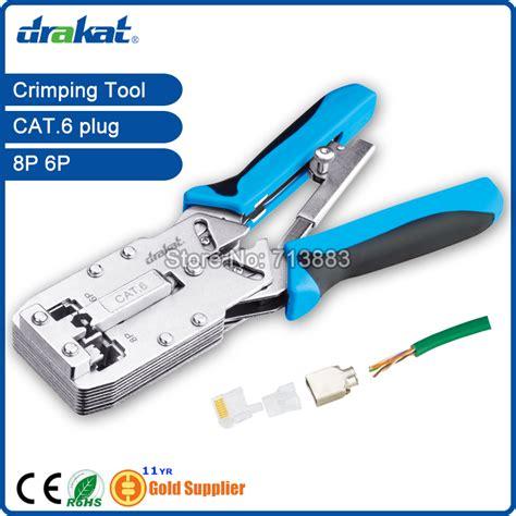 new cat6 crimping tool tl 2810r for utp stp rj45 rj11