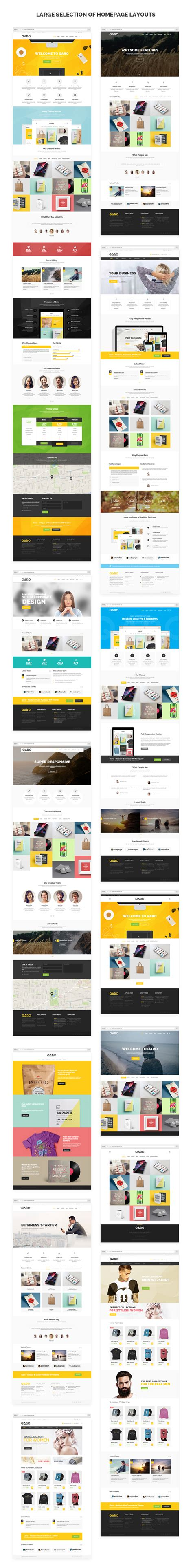 themeforest qaro qaro responsive multi purpose wp theme themeforest