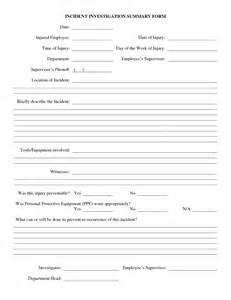 Employee Investigation Form Template by Best Photos Of Weekly Work Summary Report Template Work