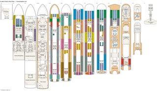 Golden Princess Deck Plans by Golden Princess Baja Deck Plan Tour