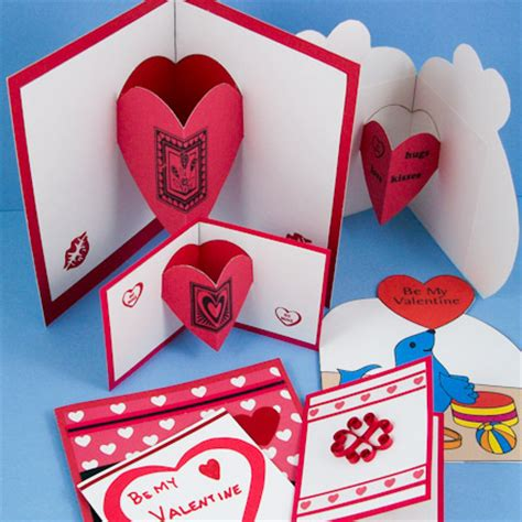 Mother S Day Greeting Card Handmade by How To Make A Heart Pop Up Card Valentine S Day Crafts