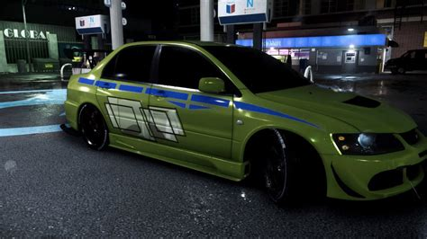 fast and furious evo nfs 2015 mitsubishi evo 2 fast 2 furious 6 by dazkrieger