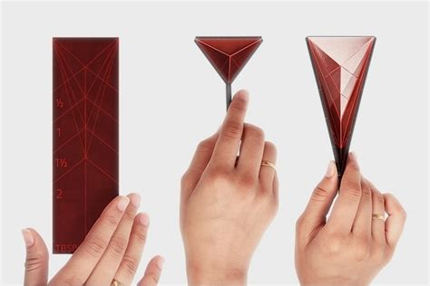 Polygon Paper Folding - polygon is one measuring spoon to rule them all technabob