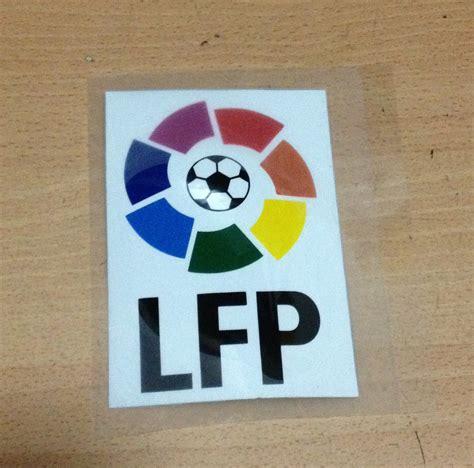 La Liga Lfp Badge 2004 Present Badges sted liga lfp logo soccer patch soccer badges flocado la liga big lfp patches league