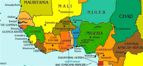 west africa map capitals home the primary planet ireland s children s