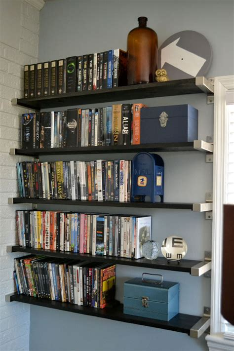 Dvd Storage Shelf by Open Shelving For Dvd Storage Lansdowne