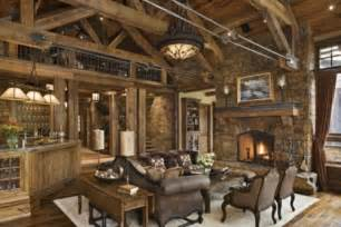 rustic bar resorts to standing room only in rustic living room design modern house