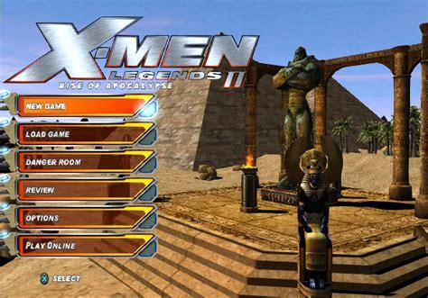 emuparadise x men legends 2 x men legends ii rise of apocalypse usa iso