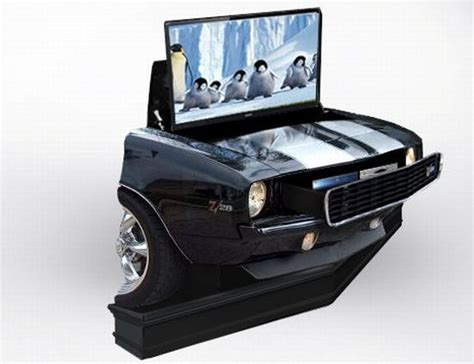 Home Design Trends Through The Decades 1969 Camaro Rs Ss Tv Lift Cabinet For Auto Lovers