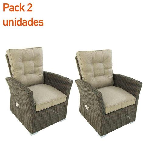 hacer sillon reclinable sillon reclinable para exterior are choco pack 2 unidades