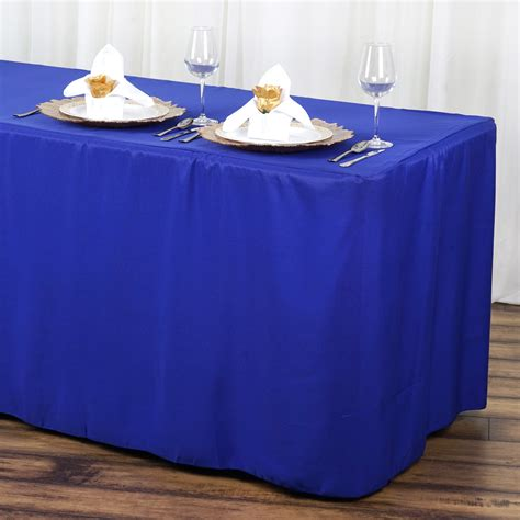 6 foot banquet table linen size hotel val decoro