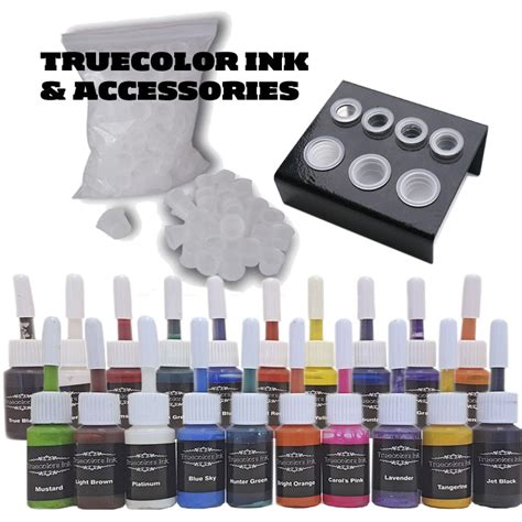 tattoo ink set kit inkstar venture c kit with truecolor 20 ink set