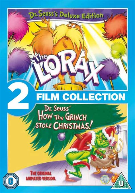 laste ned filmer dr seuss the grinch the lorax grinch who stole christmas dvd zavvi