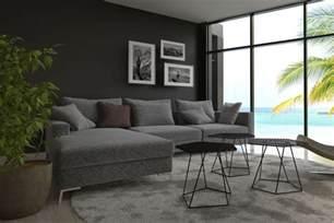 wandfarbe zu grauem sofa graue wandfarbe der edle trend an der wand graue w 228 nde