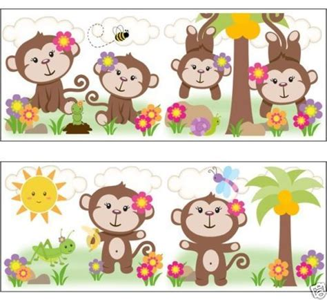 monkey wallpaper for walls 57 best baby shower images on pinterest baby shower
