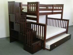 Free Twin Over Queen Bunk Bed Plans by Furniture 78 Purchase Stairway Bunk Bed Twin Over Full In