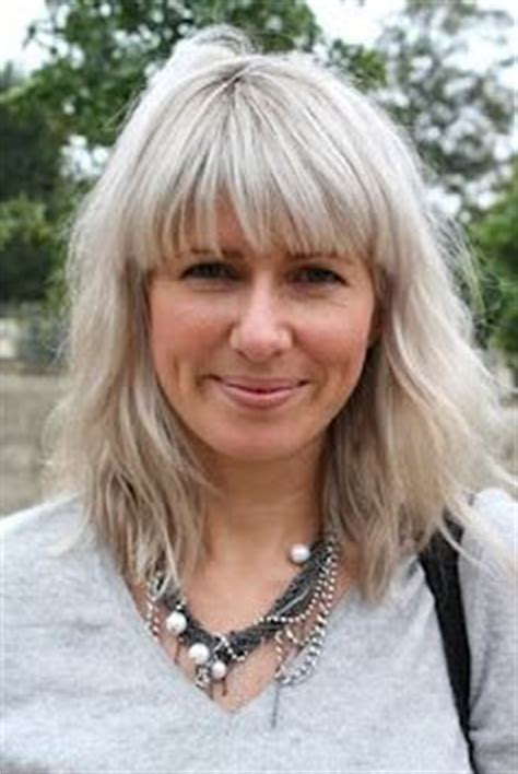 how to wear bangs with grey hair my hair gray hair and hair on pinterest