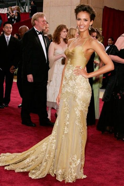 Oscars Carpet Alba most iconic carpet dresses of all time alba
