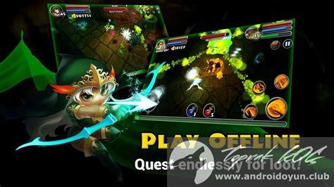 dungeon 5 apk dungeon quest v2 2 0 5 mod apk para hileli
