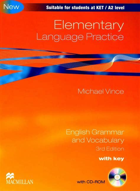 libro language practice new edition elementary language practice 3rd edition by michael vince 2010