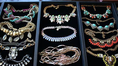 jewelry collection organization