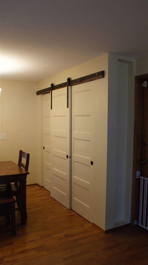hometalk  pantry build  sliding barn style doors