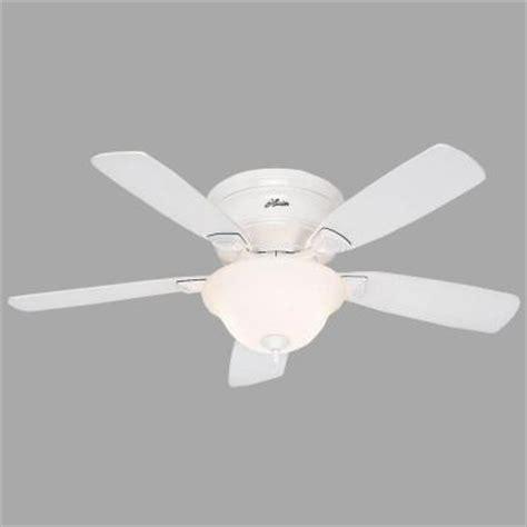 low profile white ceiling fan low profile 48 in white ceiling fan 52062 the